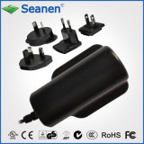 6W Series AC Adapter with Exchangeable AC Plugs