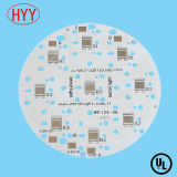 Customized Professional PCBA Round PCB with Red Solder Mask (HYY-266)
