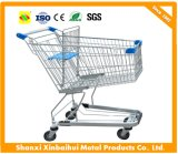 Supermarket Convenience Store Hand Truck Shopping Cart Galvanized/Chrome Plated/Powder Coated