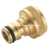 High Quality Machining Female Threaded Brass Water Fitting Line Tap Connector