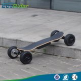 Ecorider 4 Wheel Skateboard Electric Longboard for Sale, off Road Electric Scooter with 1000W Motor