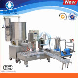 Automatic Liquid Filling Machine with L-Rolling Conveyor Filter Pump