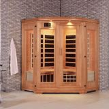 Finland White Pine Infrared Sauna Room