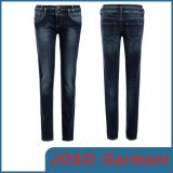 Women Double Button Skinny Jeans (JC1143)