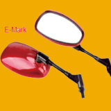 Red Motorbike Rear Mirror, Motorcycle Rearview Mirror for Motorcycle