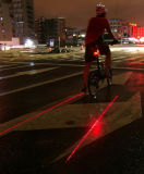 LED Bicycle Tail Light Laser Light Safety Light