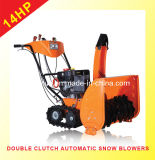 14HP CE Approal Snow Blower with Track (WST3-14)