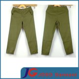 Light Green Japan Style Roll Bottom Men Cropped Chino (JC3346)
