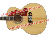 Solid Spruce Top / J200 Style Acoustic Guitar (Afanti J200)