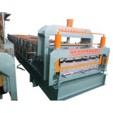 Galvanized Steel Double Layer Roofing Sheet Roll Forming Machine