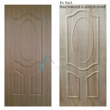 Competitive Moulded/Laminate Plywood Door Skin with Natural or Engineered Wood Veneer