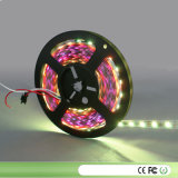 5m DC5V Lpd8806 Addressable Pixelled Strip, 52LEDs/M with 26PCS (48pixels) Lpd8806 IC 5050 SMD RGB LED Chip; in Silicon Tube