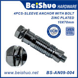 4PCS Heavy Duty Shell Anchor Expansion Anchors