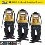 Hydraulic Rotating Timber Stone Grapple for 12-16 Ton Excavator