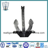 Marine Japan Stockless Anchor with Anchor Shackle