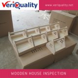 Wooden House Quality Control Inspection Service at Caoxian, Shandong