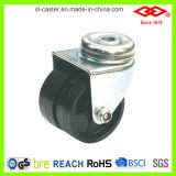 Black Plastic Double Wheel Caster (G193-30B050X19D)
