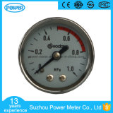 High Quality 40mm Back Type Stainless Steel Case Pressure Gauge
