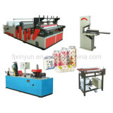 Middle Level Production Line Toilet Paper Prodcuction Machinery