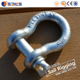 High Tensile Steel Hot Dipped Galvanized G209 Shackle
