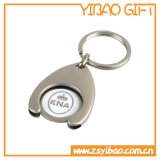 Custom Logo Trolly Coin Key Chain with Nickle Plating (YB-MK-13)