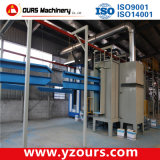 High-Efficiency Powder/Paint Spraying Line for Steel Profiles
