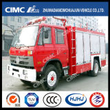 Dongfeng Chassis 4*2 Fire Truck with 3 Kinds Dispensing Materials (water, foam, powder)