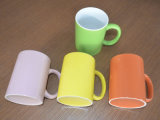 Ceramic Stoneware Coffee Mug, Colorful Cup