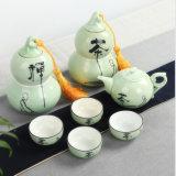 Classical China Tea Set Buddhism Tea Set Porcelain Tea Set