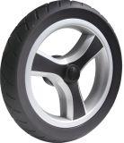 """11"""" Black PU Foam Stroller Wheel"""