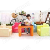Adjustable Sofa Desk Kids Study Table and Chair Set