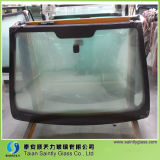 4.38mm--6.76mm Laminated Tempered Clear Windscreen Glass for Automobile