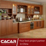 Edinburgh Classical Linear Style Plastic Uptake PVC Kitchen Cabinet (CA15-04)