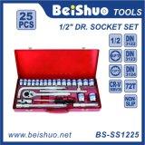 25PC 1/2′′ Dr. Socket Set