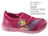 No. 50334 Girl′s Mesh Sport Stock Shoes