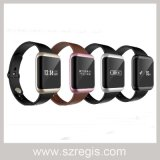 "0.68"" Touch Screen Bluetooth Smart Bracelet Silicone Bracelet Watch"