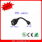 High Quality Male Micro USB OTG Cable for Samsung (NM-USB-1229)
