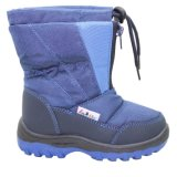 2014 Latest Design Kid's Injection Snow Boots with Water Resistance (IK0263)