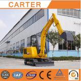 4.5t (CT45-8BS) Multifunction Backhoe Crawler Mini Excavator