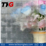3mm Clear Woven Patterned Glass