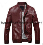 Motorcycle Suit, Safety Waterproof PU Leather Jacket for Man
