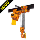 110V 220V 380V Electric Chain Hoist Fixed or Running Type