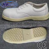 Nmsafety White Micro-Fibre Safety Shoes for Women
