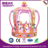 Kids Amusement Equipment Mini Colorful Kid Ride Carousel with 6seats