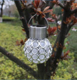 Solar Powered Ball Lamp with Crystal Coated Design