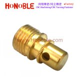 China CNC Turning/Drilling Brass Screw with Hollow on Side