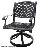 New High Quality Garden Dining Swivel Chair Furniture