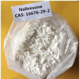 Factory Supply 99.2% Pure Naltrexone Powder 16676-29-2 for Rehabilitation Therapy