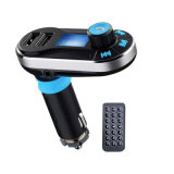 Bluetooth MP3 Player Car Charger with Dual USB Charging Ports