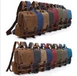 Canvas Chest Bag Travel Sport Satchel School Single Shoulder Bike Sling Backpack